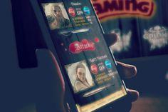 Knight Duel    David Nelke davidnelke.com #davidnelke #nelke #design #creative #UX #UI #interface #mobile