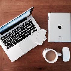 Macbook Pro, iPhone, iPad, and Magic Mouse
