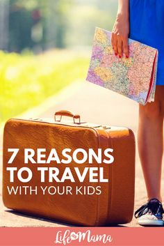 If you have been nervous to book that trip, or get out and explore since having kids, check out these 7 reasons why you should travel with your kids.