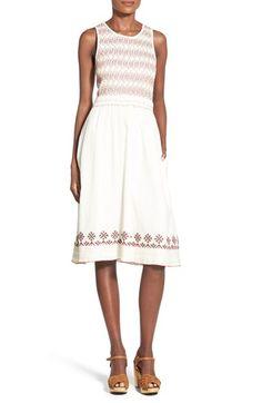 Tularosa 'Tamarack' Cotton Midi Dress available at #Nordstrom