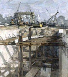 Hyde Park Corner, painted 1961 Bernard Dunstan