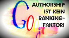 "Trotz ""Good Guy Algorithm"": Google Authorship kein Rankingfaktor"