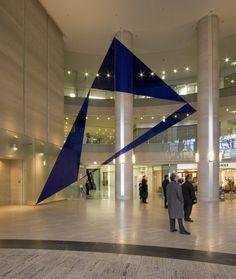 Varini-Trois Triangles Bleus