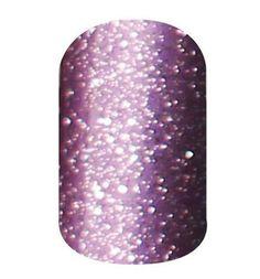 Jamberry Nail Wraps - Lavender Sparkle - Half Sheet Retired RARE #Jamberry