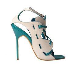 Manolo Blahnik Gloton 'Jelixa' Spring Summer 2010 #Manolos #Shoes