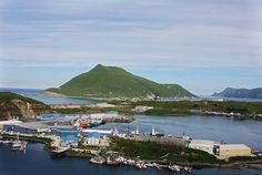 Port of Dutch Harbor, Unalaska, Aleutian Islands, Alaska