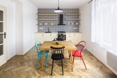 Traditional chairs, bar-stools and upholstered chairs made from bent wood as well as design novelties. Traditional Chairs, Bent Wood, Upholstered Chairs, Interior Inspiration, Kitchen Inspiration, Bar Stools, Armchair, Household, Dining Table
