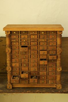 Mark Dion by sokref1, via Flickr ... a great storage place for many of my found objects waiting to be used in my assemblages..LOL