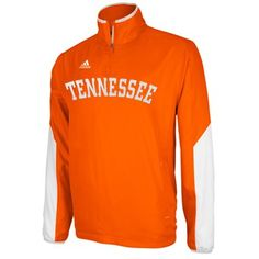 adidas Tennessee Volunteers 2012 Sideline Hot Quarter Zip Jacket - Tennessee Orange