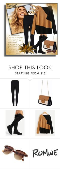 """""""Romwe 5/10"""" by sanela1209 ❤ liked on Polyvore featuring WALL"""