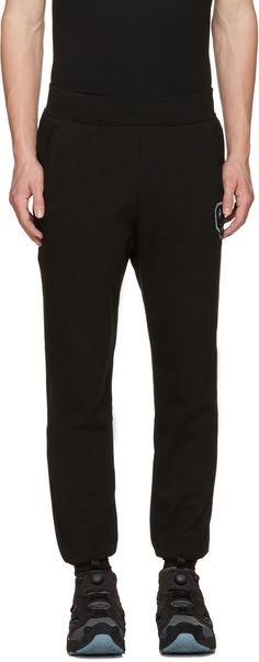 OPENING CEREMONY Black Logo Patch Lounge Pants. #openingceremony #cloth #pants