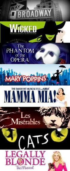 Some of these musicals were too good to be taken off Broadway.