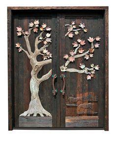 A Cracked Door: Wordless Wednesday - Unique Doors