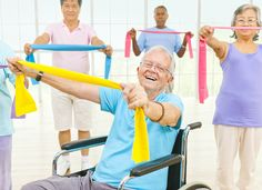 Elder Care in Mt. Laurel NJ: If your elderly loved one uses a wheelchair, you may be worried that they will never get the exercise that they need.