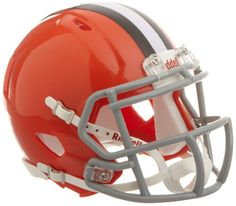 Riddell Revolution Speed Mini Helmet  Cleveland Browns ** Click on the image for additional details.