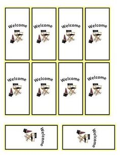 Hollywood Classroom Theme Packet - Back to School image 4