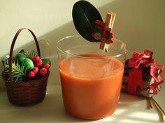 Cóctel Navidad para niños. Ver la receta http://www.mis-recetas.org/recetas/show/33493-coctel-navidad-para-ninos