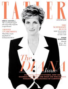misshonoriaglossop: Tatler, January 2016-The Diana Issue with unpublished photos of the late princess