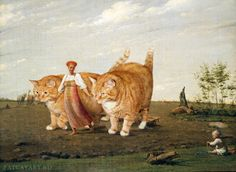 Image from http://shop.fatcatart.com/wp-content/uploads/2014/04/Venetsianov_Aleksey-In-the-ploughed-field-cat_w.jpg.