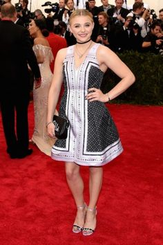 Chloë Grace Moretz at the Met Gala 2015. Click on the image to see more looks.
