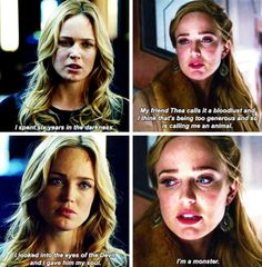 The fact that you think you are proves that you aren't Legends Of Tommorow, Dc Legends Of Tomorrow, The Cw Shows, Dc Tv Shows, Arrow Tv Shows, Dinah Laurel Lance, White Canary, Cw Dc, Team Arrow
