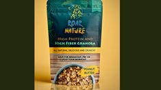 Hamza Rehman is raising funds for ROAR NATURE - High Protein and High Fibre Tasty Cereal (Canceled) on Kickstarter! We at Roar Nature are aiming to bring to you a very healthy vegan high protein and high fibre granola! Its super tasty and crunchy High Fibre, High Protein, Granola, Peanut Butter, Cereal, Fiber, Tasty, Vegan, Breakfast