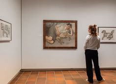 Installationshot from the exhibition 'Louisiana On Paper: Lucian Freud - A Closer Look', 3.9.2015 - 29.11.2015 at Louisiana Museum of Modern Art. #lucianfreud #acloserlook #louisianaonpaper #onpaper #etchings #louisianamuseum #louisiana