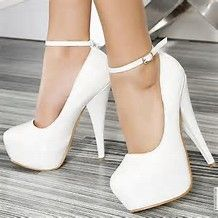 Image result for high heels white