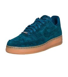new york 83dfd f17bf Amazon.com   Nike Women s Air Force 1  07 Suede 749263 301 Size 12    Skateboarding