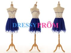 Best sale Navy Homecoming Dress On SaleMini Beading by DressyProm