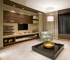 45 amazing wall tv cabinet designs for cozy family room 7 Home Interior, Modern Interior, Interior Design, Living Room Tv Unit, Living Room Decor, Foyer Mural, Tv Cabinet Design, Cozy Family Rooms, Tv Wall Decor