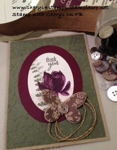 Butterfly Basics & Lotus Blossom Stamp Sets, Always Artichoke, Blackberry Bliss & Crumb Cake