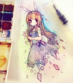 Beautiful water color painting, I hope to learn how to do this