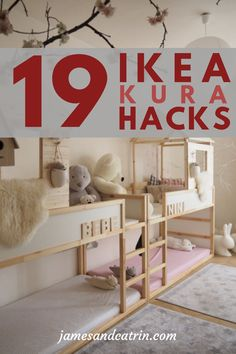 Wonderful Free 19 Ikea Kura Bed Hacks your Kids will Love - james and catrin Concepts An Ikea kids' room remains to fascinate the little ones, since they are offered a great deal Ikea Kura Hack, Ikea Hack Bedroom, Ikea Hack Kids, Ikea Kids Room, Ikea Hacks, Ikea Girls Bedroom, Ikea Furniture Hacks, Furniture Dolly, Furniture Online