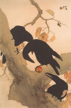 Crows, ca 1921, Takeuchi Seiho