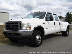 2003 Ford F-350 Super Duty XL Diesel 4X4 Dually Crew Cab Long Bed $13,995 - View more information and inventory at www.davis4x4.com