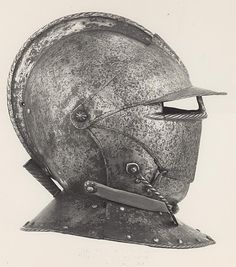 French or Italian (Possibly)    Closed Burgonet, c. 1610    Steel- Art Institute of Chicago