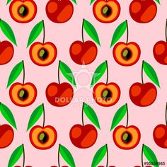 https://it.dollarphotoclub.com/stock-photo/Seamless vector pattern,  bright fruits symmetrical background with cherry, whole and half over light backdrop. Series of fruits and ingredients for cooking./95858985Dollar Photo Club milioni di immagini stock per 1$ l'una