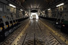Image result for cargo plane interior