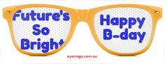 celebrate #birthday with printed custom logo #sunglasses you can Design Your Own Sunglasses https://www.eyemage.com.au/design