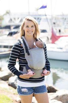 Coast Overcast - Tula Free-to-Grow Baby Carrier