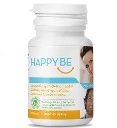 Happy Be, doplněk stravy pro uklidnění, ale zároveň pro bystré myšlení Coconut Oil, Ale, Happy, Food, Ale Beer, Essen, Ser Feliz, Meals, Yemek
