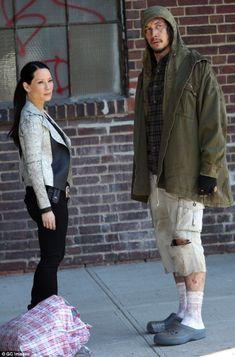 PHOTO   Adam Driver & Scarlett Johansson filming Noah Baumbach's