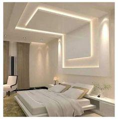 Interior Ceiling Design, House Ceiling Design, Ceiling Design Living Room, Bedroom False Ceiling Design, Room Design Bedroom, Home Ceiling, Home Room Design, Modern Bedroom, Kitchen Ceiling Design