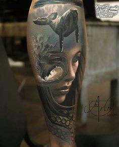 «Самое большое наслаждение я получаю, когда создаю что-то новое, но при этом я знаю, что вдохновило меня на создание очередной татуировки»