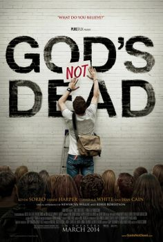 God's Not Dead is a 2014 Christian drama film directed by Harold Cronk, and stars Kevin Sorbo, Shane Harper, David A. White and Dean Cain. The film was released to theaters on March by Pure Flix Entertainment Shane Harper, See Movie, Film Movie, Kevin Sorbo, Christian Films, Christian Music, Christian College, Christian Faith, Christian Living
