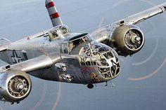 Oshkosh Airshow 2012   B-25 Mitchell