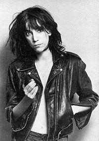 Patti Smith w/ Leather Jacket