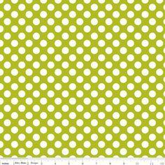Carly Griffith - Little Matryoshka - Matryoshka Dots in Green