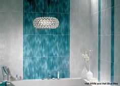 Tiling Tip 2 = When choosing tiles for your bathroom wall tiles. Consider lighter colour tiles, such as cream and white, which can make a small bathroom look bigger. Lighter coloured tiles reflect light more effectively than darker coloured tiles resulting in a small space gaining a large appearance.